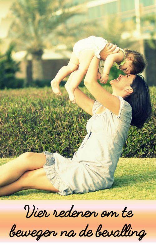 Vier redenen om te bewegen na de bevalling