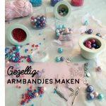 Vakantie: armbandjes maken