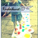 Kinderkunst (1) Voetverven!