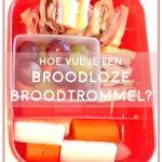 Hoe vul je een broodloze broodtrommel?