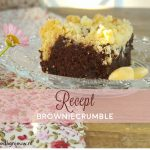 Recept: browniecrumble