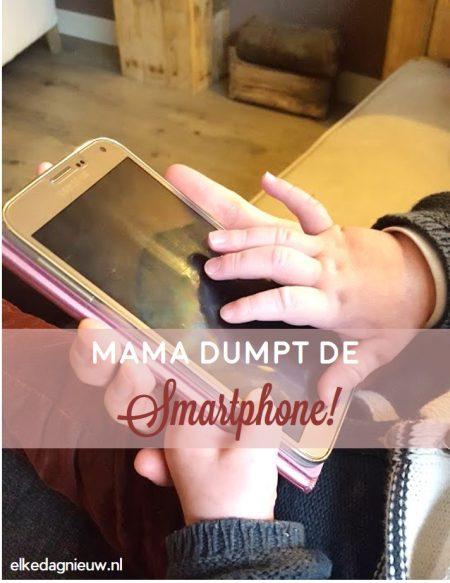Mama dumpt de smartphone!