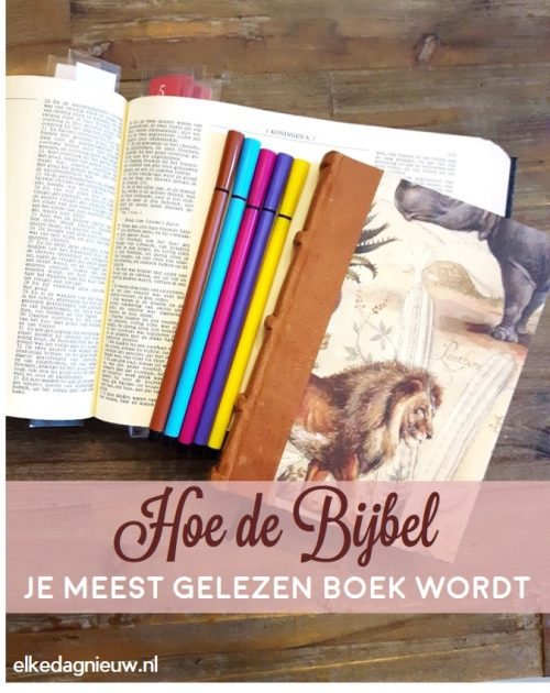 Hoe de Bijbel dit jaar méér wordt dan een vink op je to-do lijst