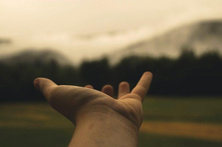 Biddag: leer bidden met je hand