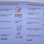 Een lijstje om kinderen te leren zichzélf klaar te maken