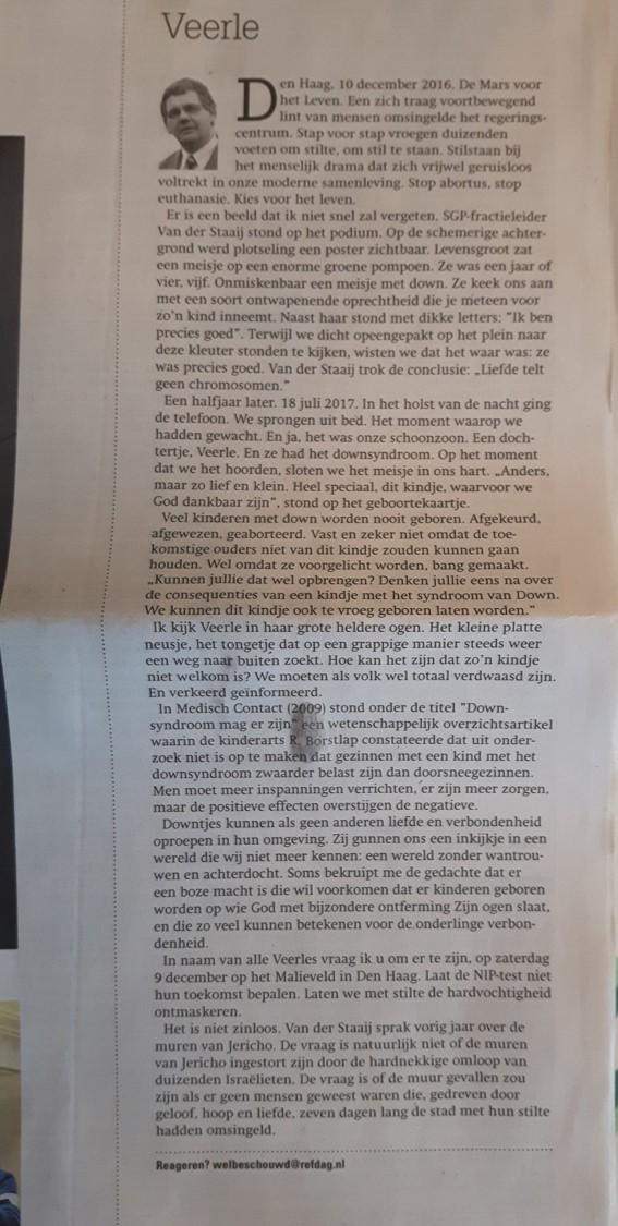 Abortus in Nederland: wegkijken of opstaan?