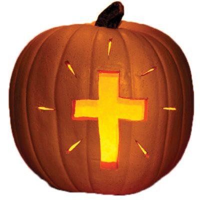 Licht in de duistere Wereld van Halloween